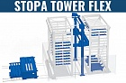 Автоматический склад для металлического листа - STOPA TOWER Flex